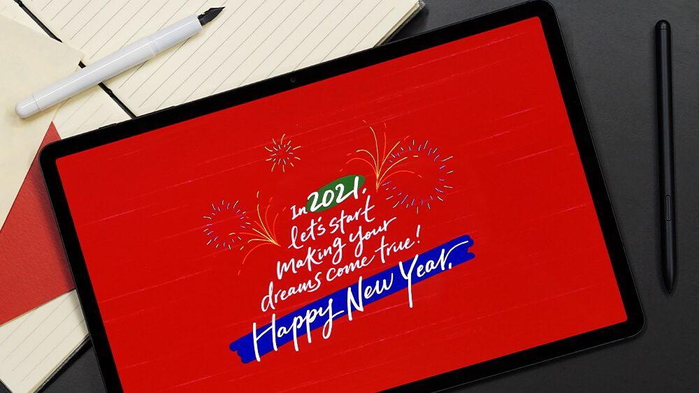 Galaxy Tab S7+ Calligraphy_thumb1000