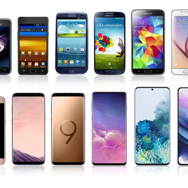 Galaxy S Series History_main1