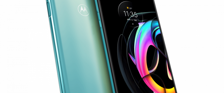 Motorola edge 20 lite Cyber Teal hero