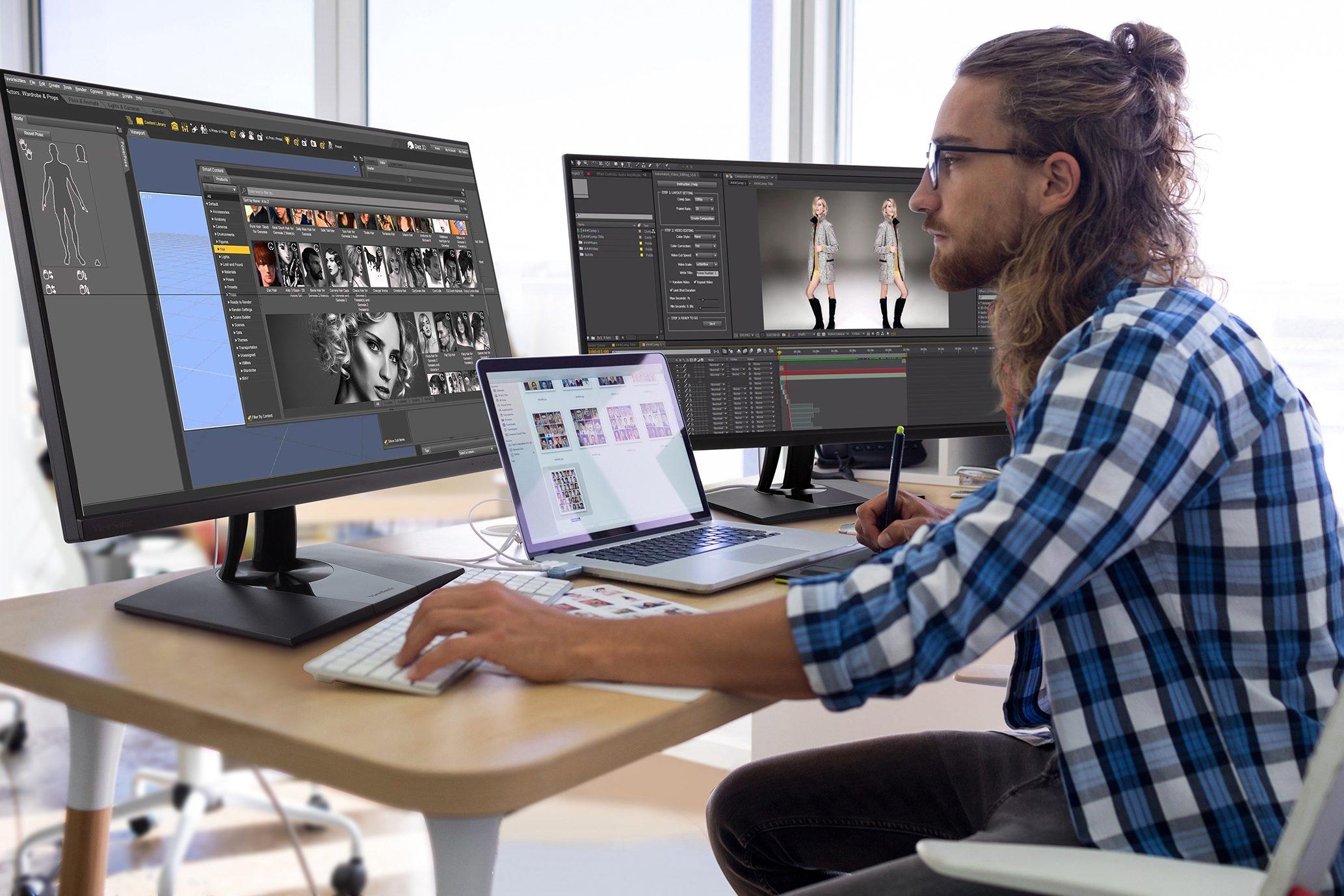 ViewSonic presenta nuevos monitores ColorPro™ con resoluciones 2K y 4K